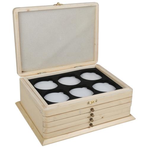 Wooden Lens Cabinet
