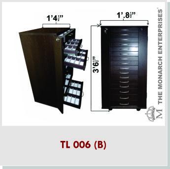 Optical Frames Storage Trolley