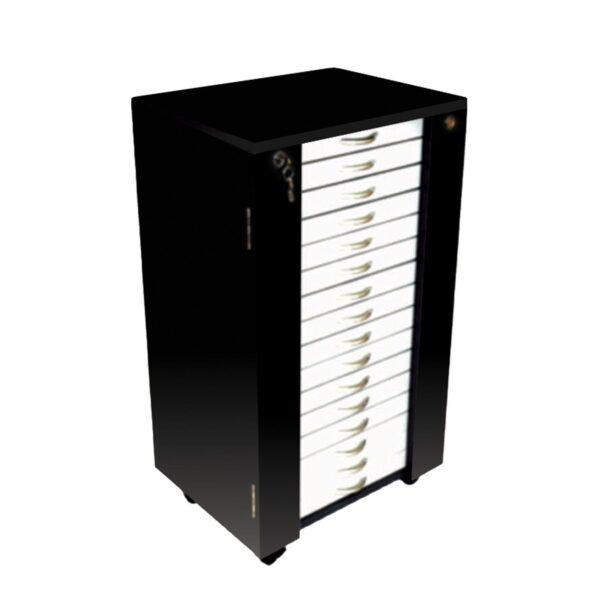 Optical Lockable Storage Trolley