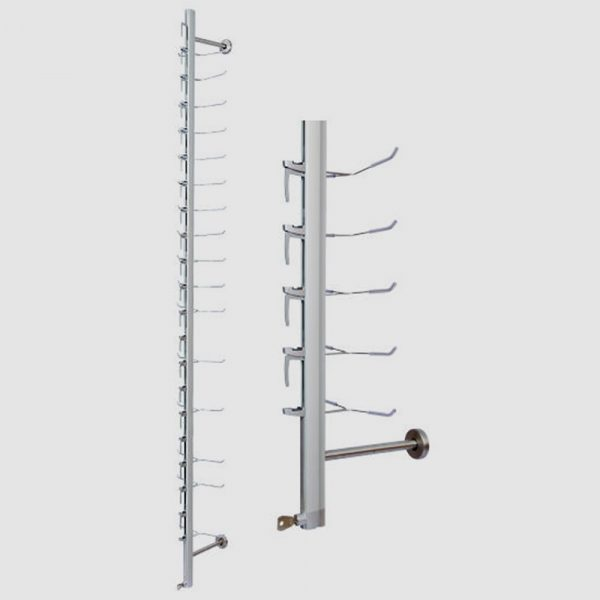 Sunglass Lockable Display Rod Stand