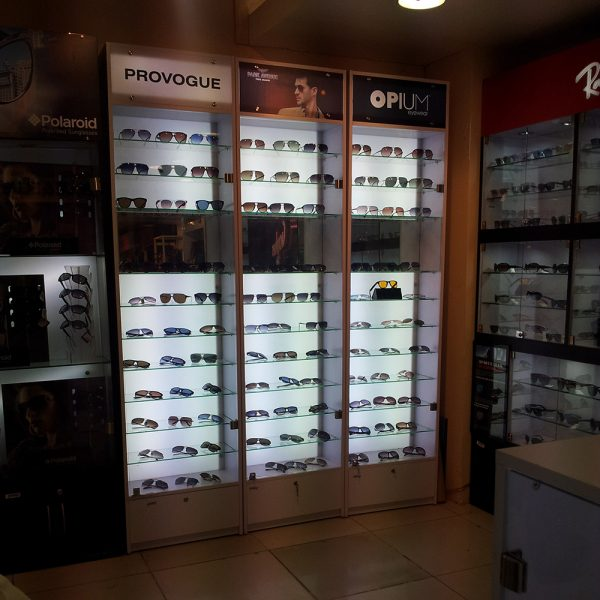 shop in shop Optical Display Kiosk Designs