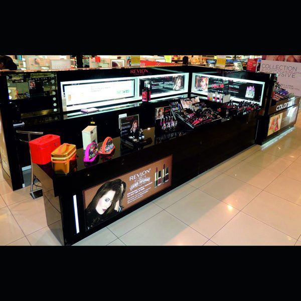 cosmetic retail kiosk for malls