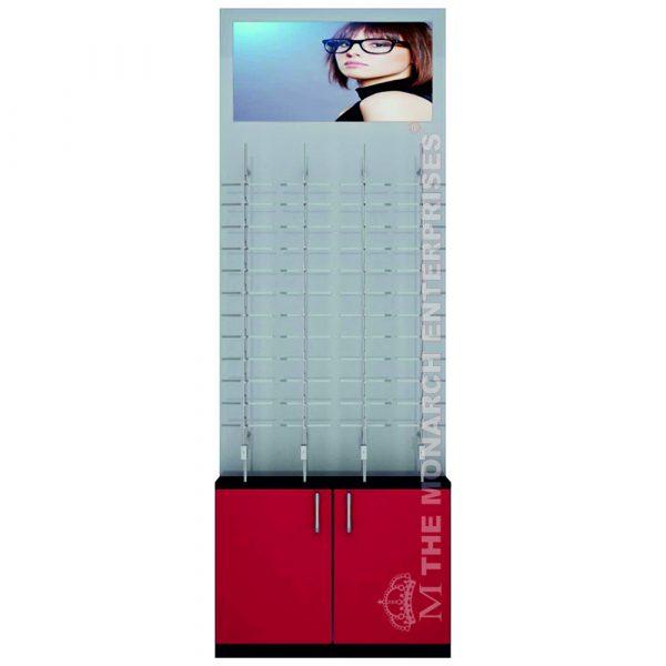 Eyewear Back Panel Display Unit