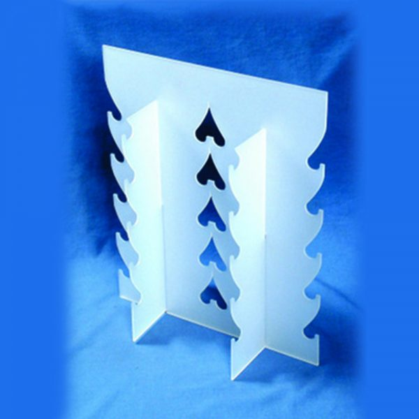Optical acrylic display