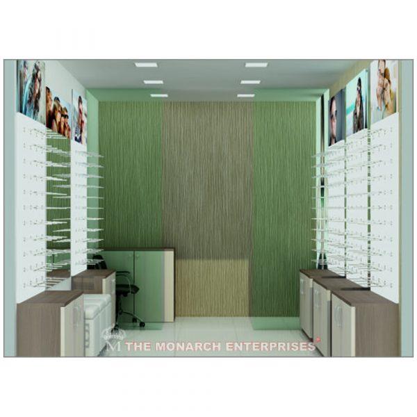 eyewear showroom display