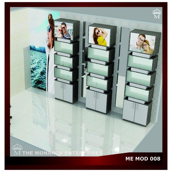 optical modular display