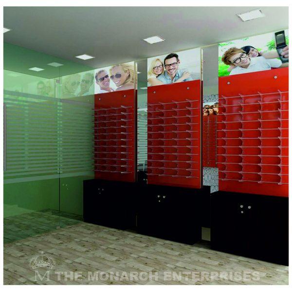 optical showroom display