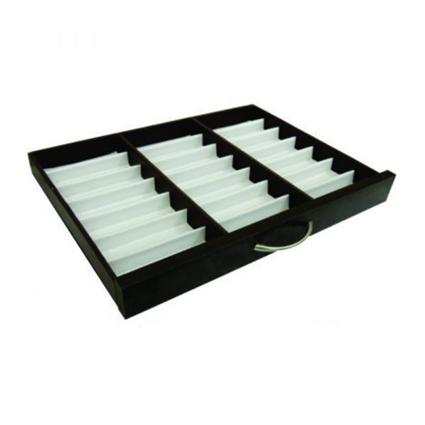 Frame Line Drawer Display Tray