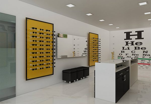 Economic Optical Shop Design
