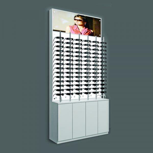Eye Wear Backlit Unit Retail Display
