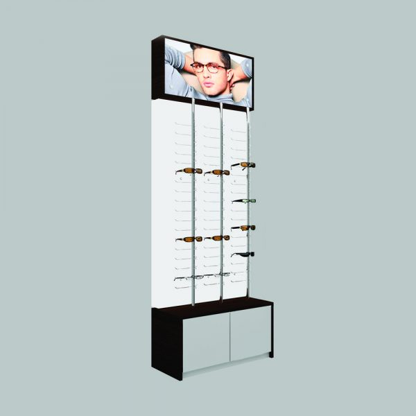 Backwall Optical Frames Display