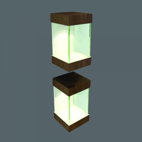 Modular Optical Display Cabinet