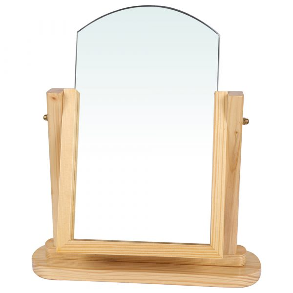Eye wear Showroom Wooden Mirror
