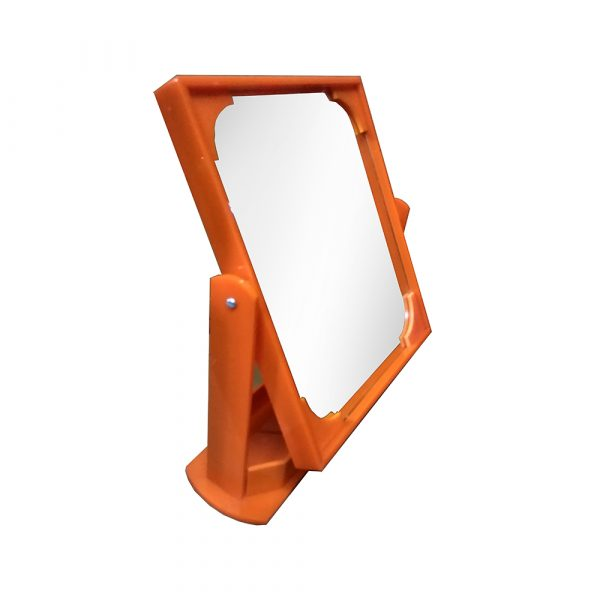 orange optical display counter mirror