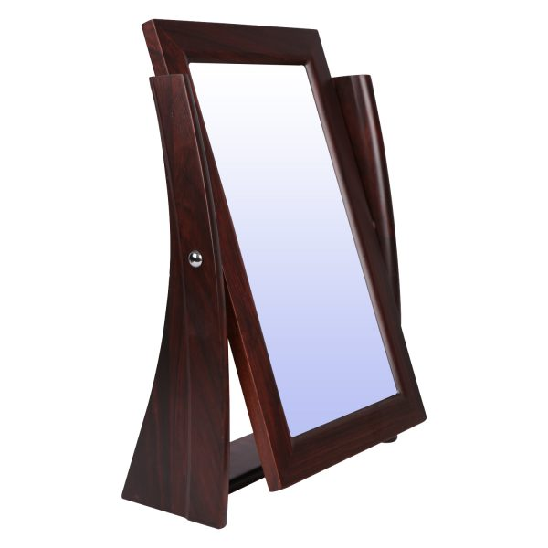 Optical Rose Wood Counter Mirror