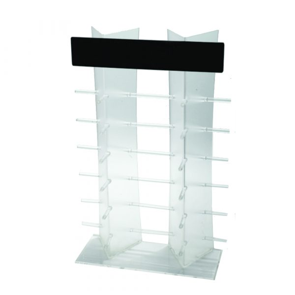 Non Revolving Table Top Eyewear Display Stand