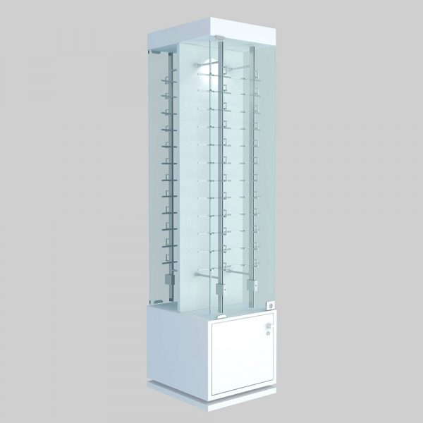 optical floor display stand