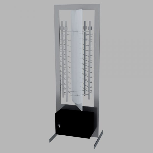 Eyeglass Revolving Floor Display Stand