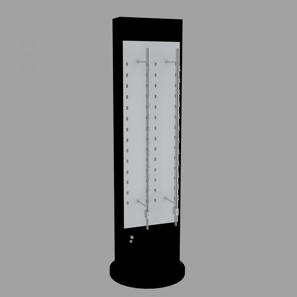 optical floor display stand