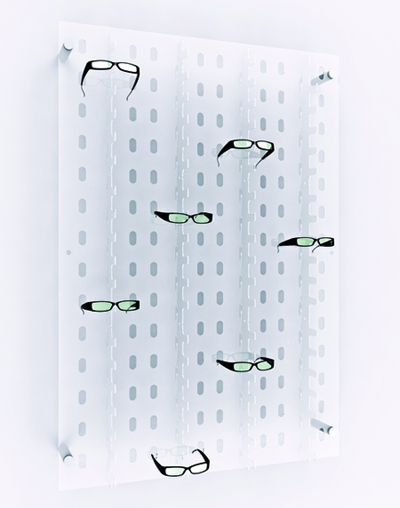 Sunglass Display Eye Panel
