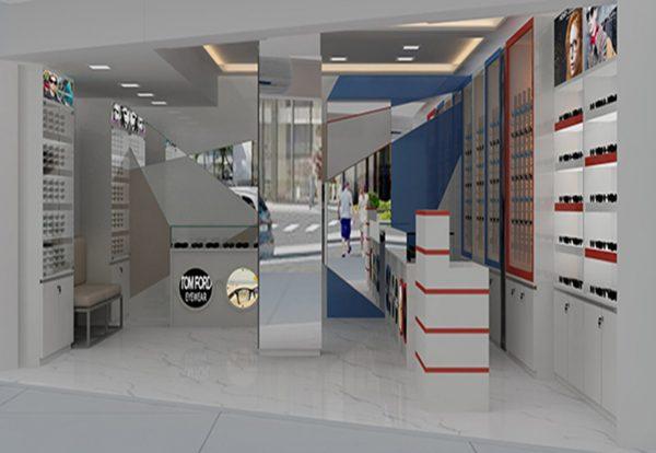 turnkey eyewear shop design