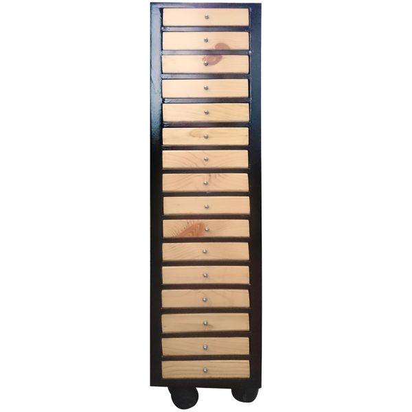 optical storage trolley