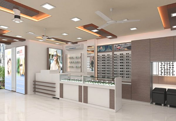 optician shop design