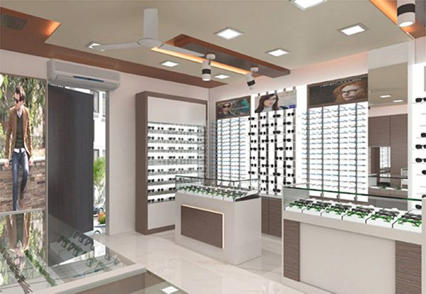 Optical Showroom Designing Service