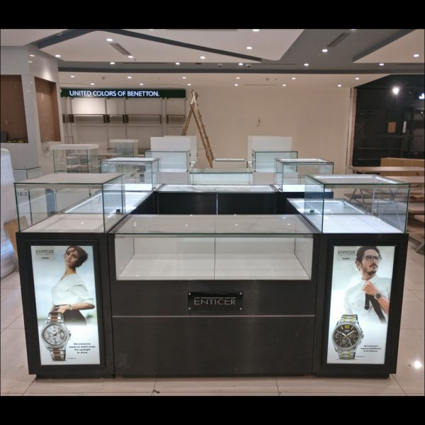 retail kiosk for malls shop in shop display