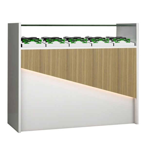 optical display counter table