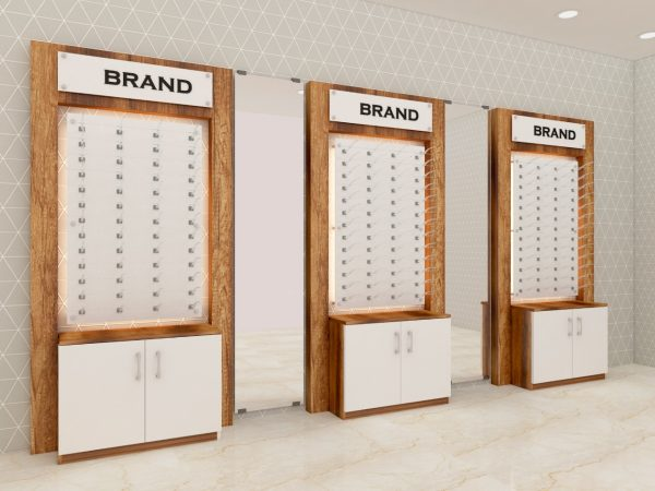 eyeglass wall display units