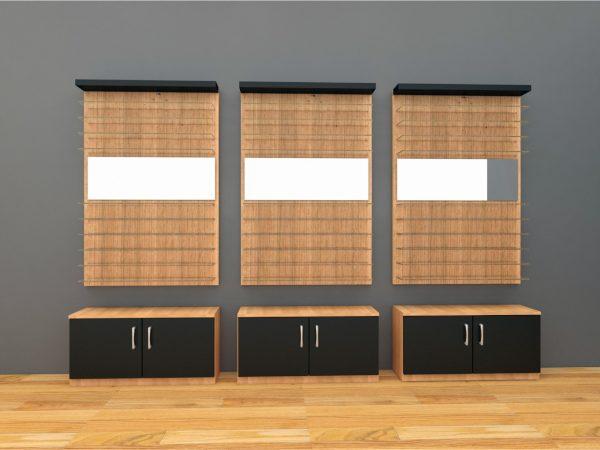 eyewear wall display unit