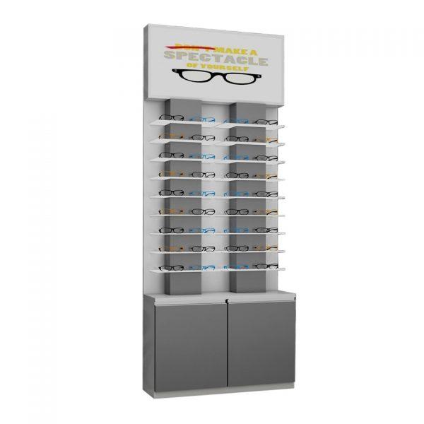 Eyewear Backwall display unit