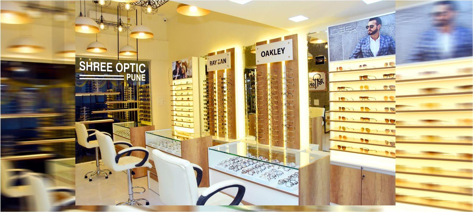 optical shop design in india