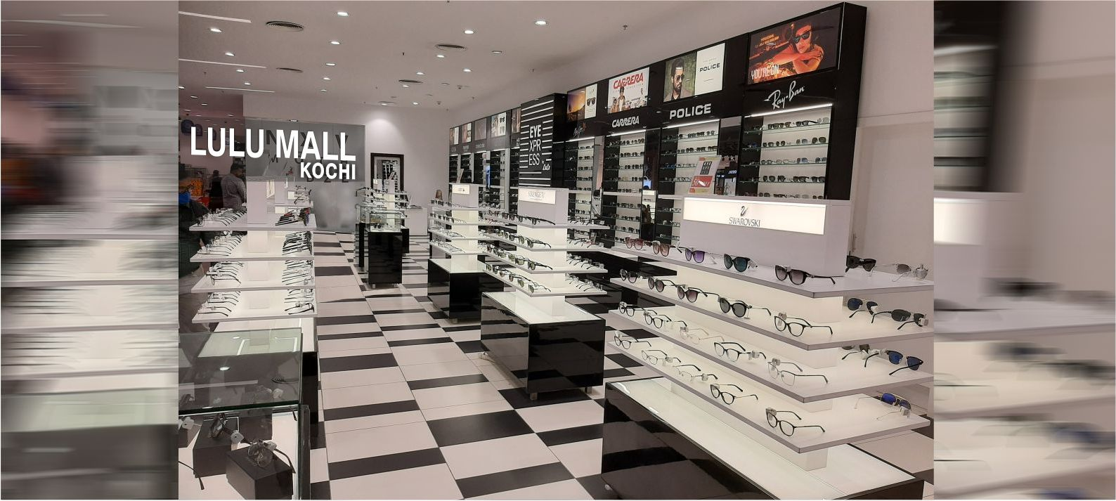 latest optical showroom design