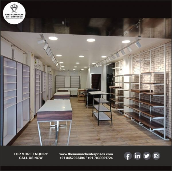 Cloth Showroom Interior Design