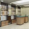 optical store interior design