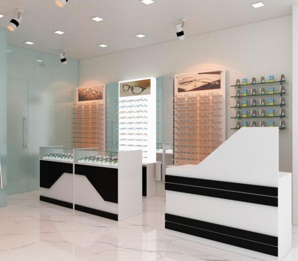 simple optical shop design