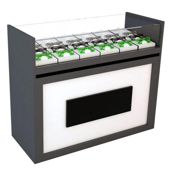 optical shop counter display